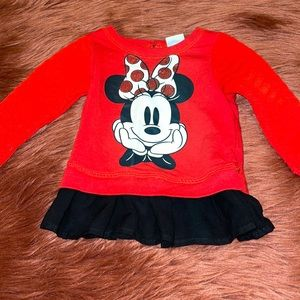 Disney Baby Girl Minnie Mouse Shirt!
